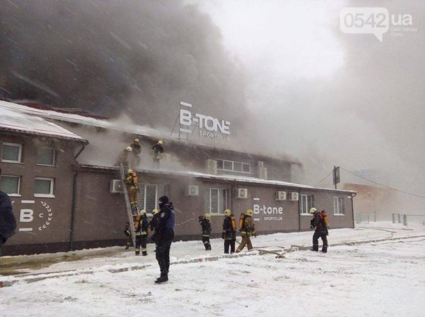 Милиция Сум назвала предварительную причину пожара вспортивном клубе «В-tone»