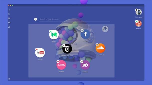Neon - браузер будущего