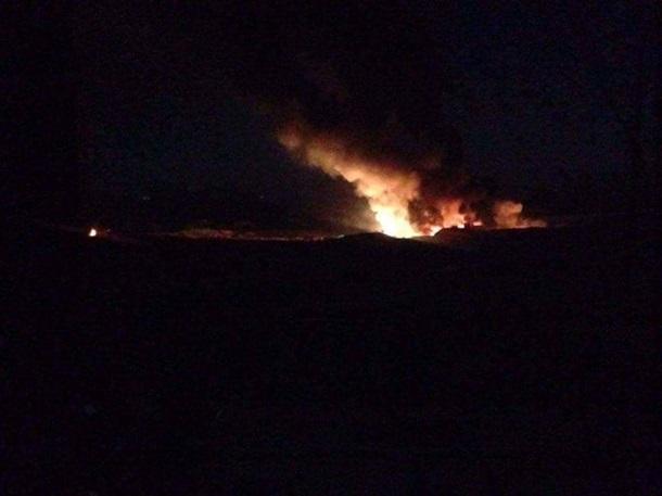 Серия взрывов произошла врайоне военного аэродрома под Дамаском