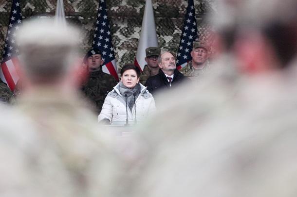 Власти Польши военным США: Ждали вас десятки лет