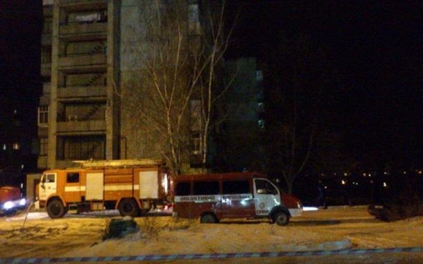 ВСумах намногоэтажке гранатой подорвали газопровод