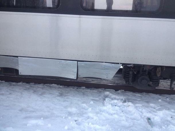 Поезд «Львов-Перемышль» попал вДТП