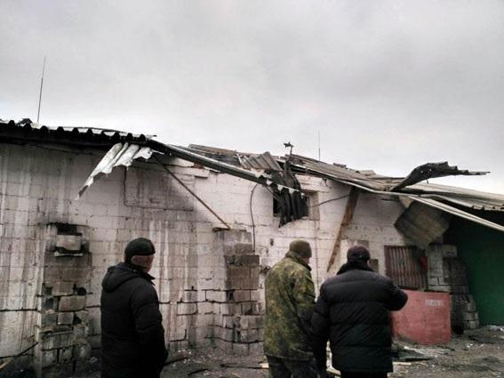 Сартана частично обесточена в итоге обстрела боевиков