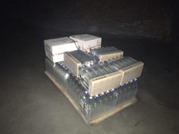 На Одесчине иностранцы пытались по льду переправить в Украину партию водки