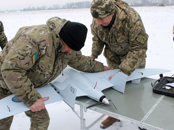 Под Черниговом начаты тестирования отечественного беспилотника «Лелека-100»