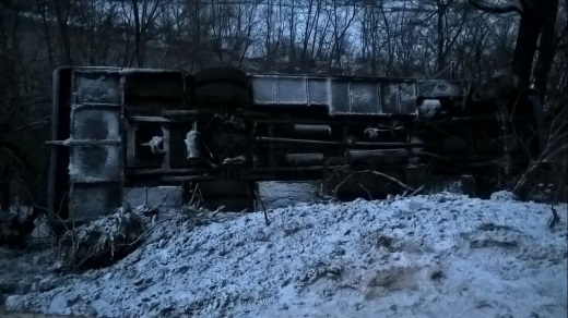НаЗакарпатье автобус упал собрыва, есть пострадавшие: появились фото
