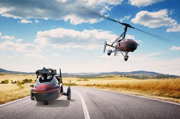 Стартует продажа летающих авто