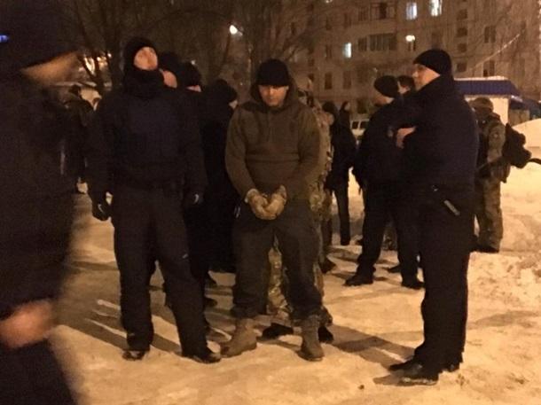 ВХарькове произошла бойня между националистами идобровольцами, есть пострадавшие