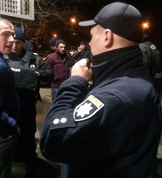 ВХарькове милиция помешала потасовке «район нарайон»