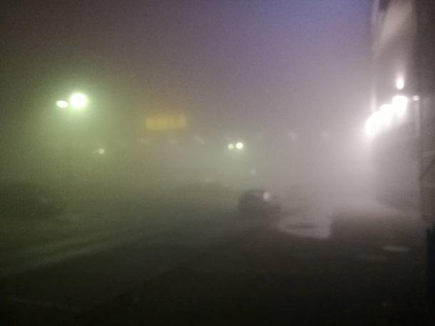 КГГА: Густой туман стал предпосылкой  дымки над Киевом