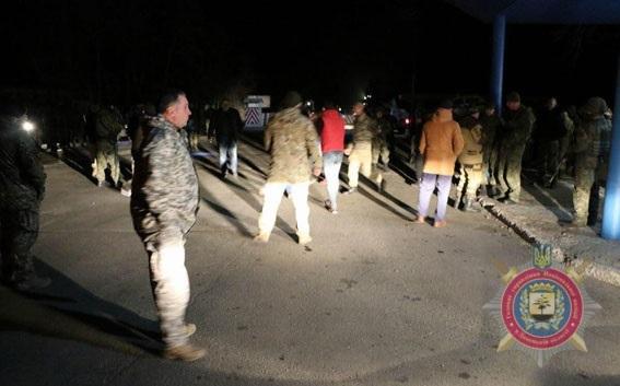 Полиция: Парасюк первый на нас напал