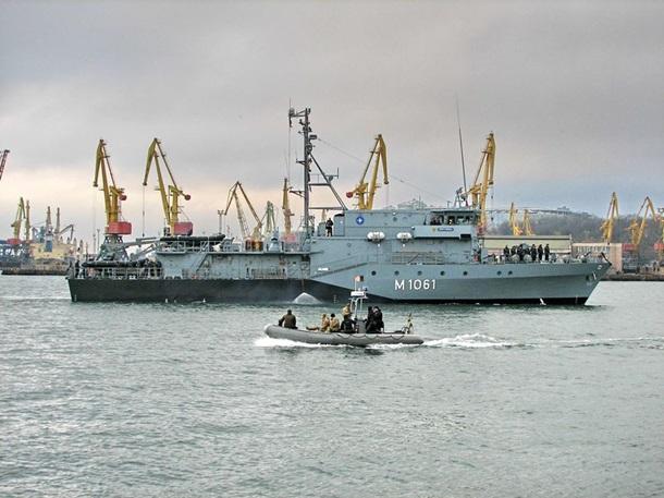 ВОдессу прибыли 4 корабля НАТО