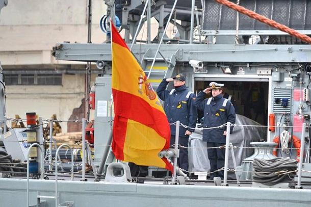 ВОдессу зашли корабли НАТО
