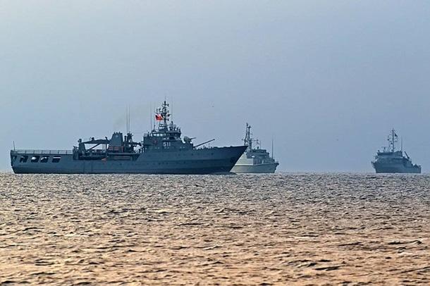 Впорт Одессы зашли 4 корабля НАТО