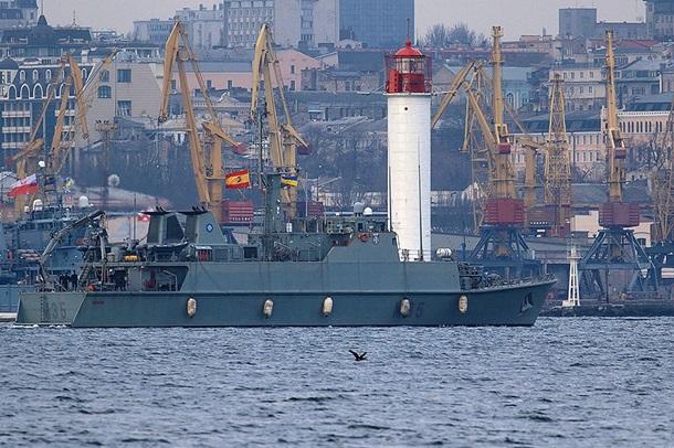 Корабли НАТО водесском порту 18марта откроют для экскурсий