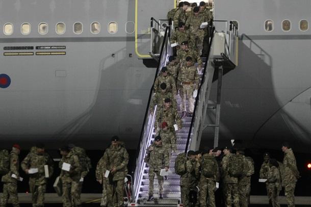 ВЭстонию прибыло первое крупное подразделение батальона НАТО