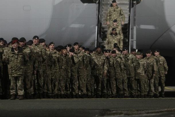 ВЭстонию прибудет первое крупное подразделение батальона НАТО