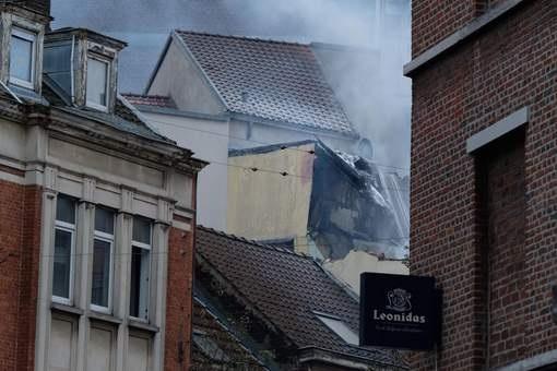 ВБрюсселе произошел взрыв, разрушен дом