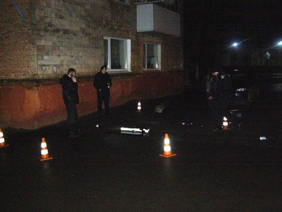 В Ровно из гранатомета стреляли в здание полиции