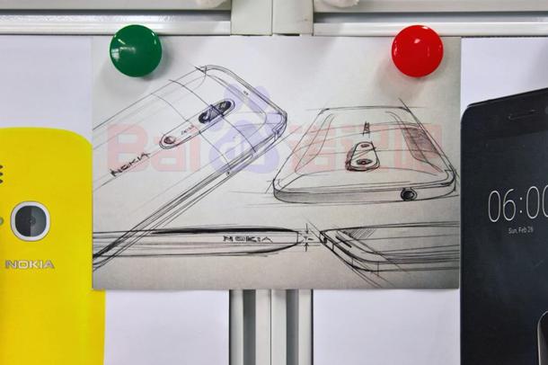 Эскизы показали флагман нокиа двойной камерой Carl-Zeiss