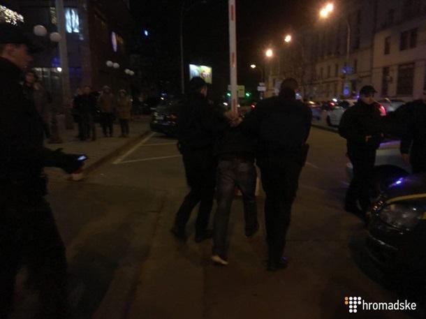Стрельба вцентре столицы Украины: один человек ранен