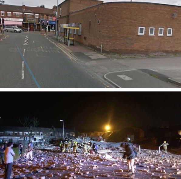 В Англии в итоге мощного взрыва пострадали 34 человека