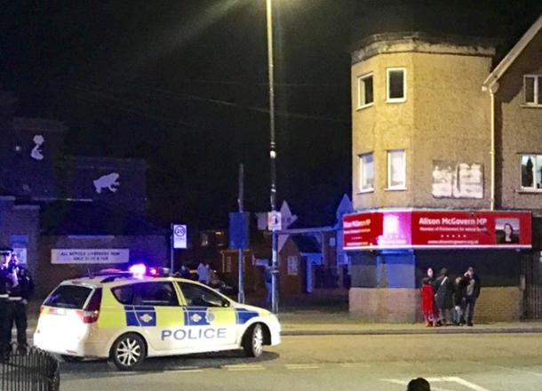 Как минимум покрайней мере 15 человек ранены в итоге взрыва вЛиверпуле