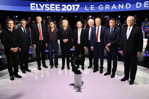 Меланшон одержал победу надебатах претендентов впрезиденты Франции