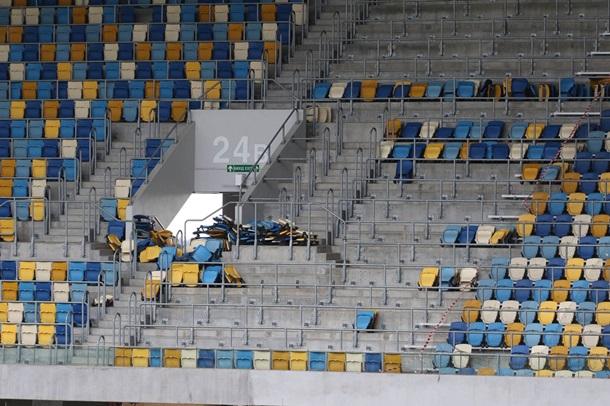 Настадионе «Арена Львов» демонтируют ивывезут 20% кресел