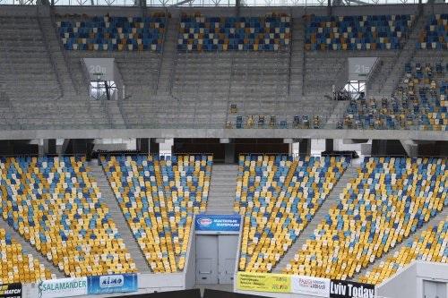 С «Арены Львов» сняли 7 тыс. кресел для обустройства трибун наЕвровидении