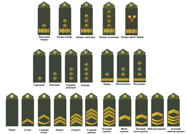 Без прпапорщиков: как могут измениться войсковые звания вукраинской армии
