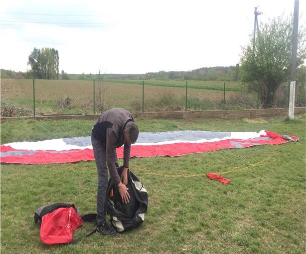 На Закарпатье задержали парашютиста из Венгрии