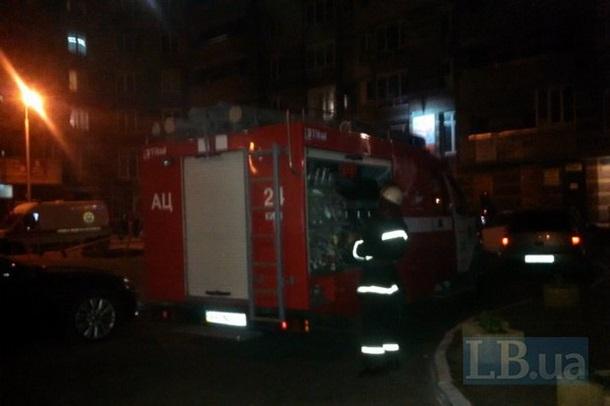 Самодельная бомба взорвалась вжилом доме вКиеве