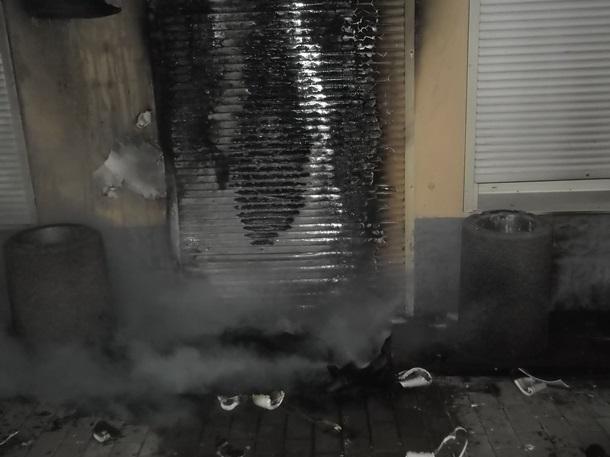 УДніпропетровській області підпалили два офіси Опоблоку
