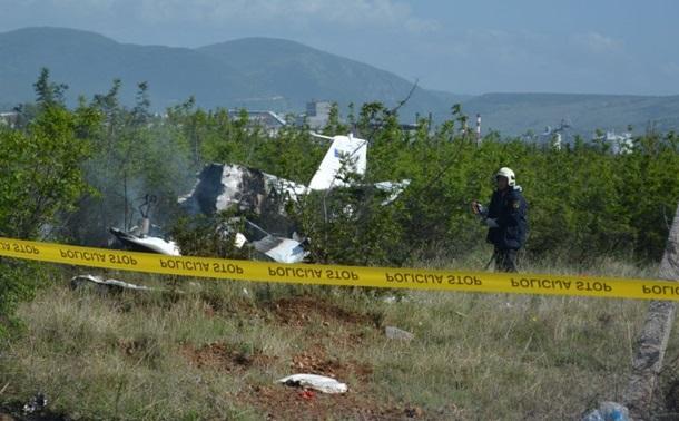 В Боснии и Герцеговине упал самолет: есть погибшие