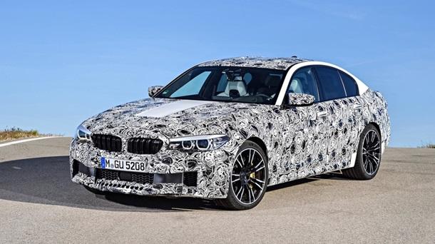 BMW показала шестое поколение седана M5 - Фото