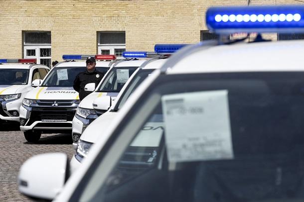 Нацполиция получила 635 новых гибридных авто