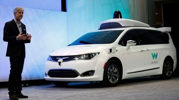 Google начал тестирования  беспилотного фургона