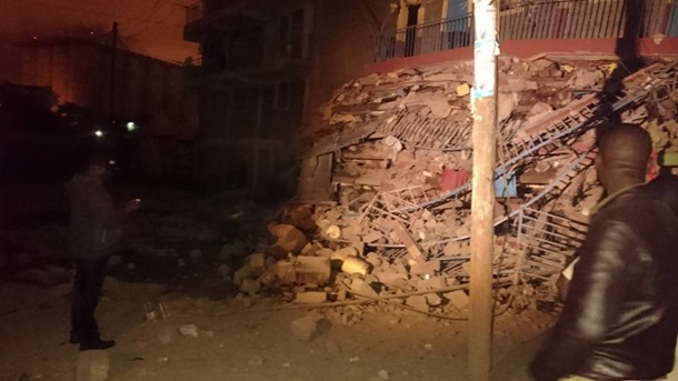 ВКении при обрушении семиэтажного здания пропали 15 человек