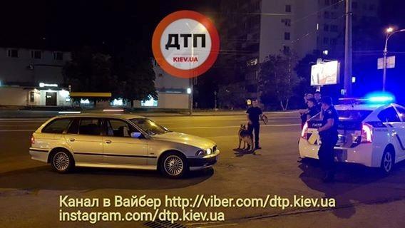 В Киеве полиция во время погони устроила ДТП