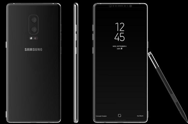 У Мережу потрапили нові подробиці про Galaxy Note 8