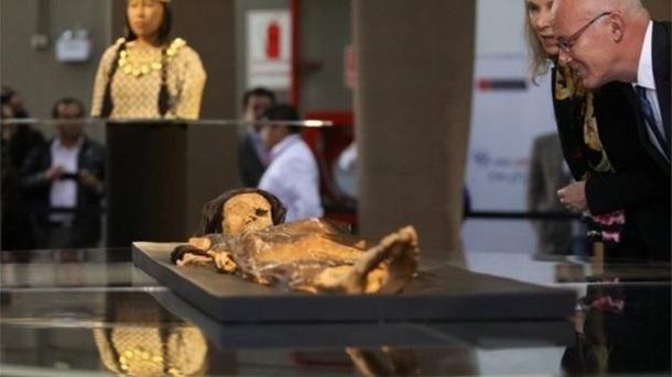 Вчені в Перу відтворили обличчя знаменитої мумії Леді Као