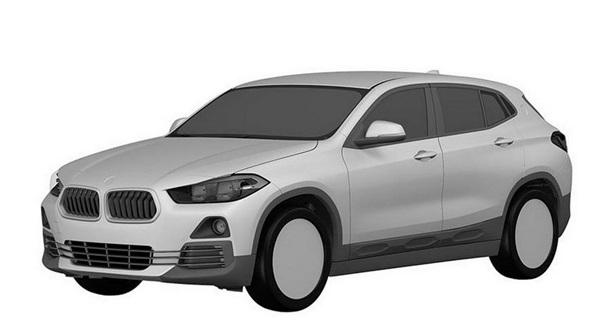 Опубликованы первые изображения авто BMW X2
