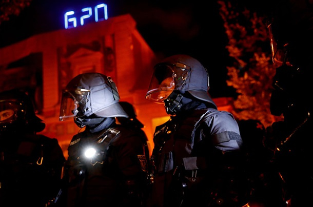 Столкновения в Гамбурге: пострадали 74 полицейских