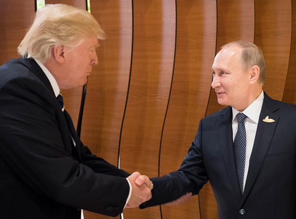 Трамп та Путін уперше потиснули один одному руки