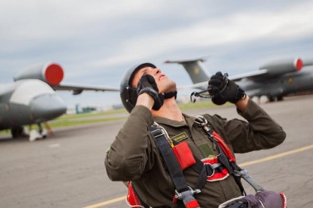 Нацгвардійці вперше десантувалися з військово-транспортного літака