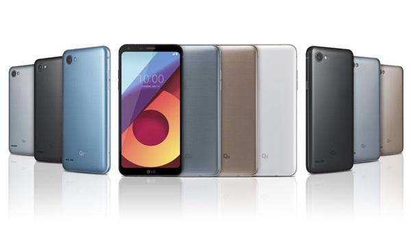 LG представила міні-версію флагмана Q6, що розпізнає обличчя