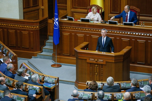 Мы вам поможем, но без членства. Украина и НАТО