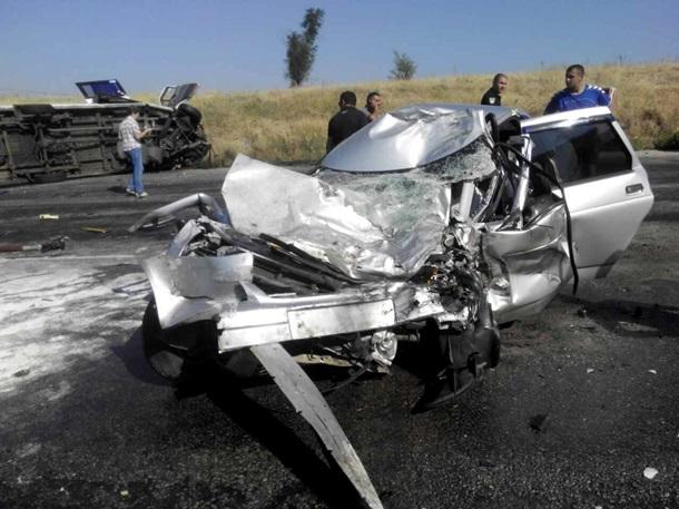 УЗапорізькій області десять людей постраждали вДТП