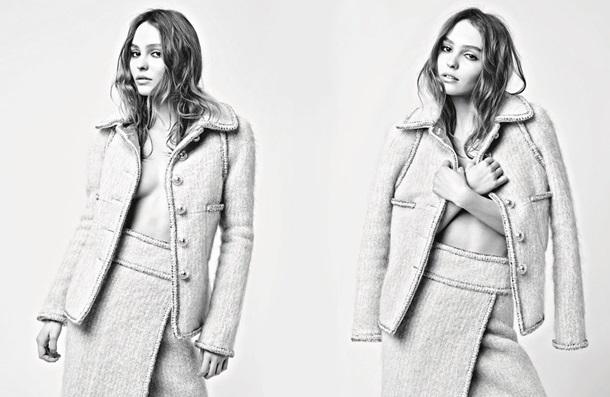 Дочь Деппа снялась в смелой фотосессии для Chanel